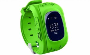 Kid Safe GPS Watch Wristwatch SOS Call Location Finder - Green