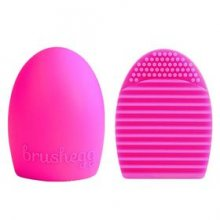 Brushegg Make Up Brush Cleaner - Dark Pink
