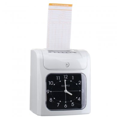 Electronic Employee Analogue Time Recorder Time Clock with Card
