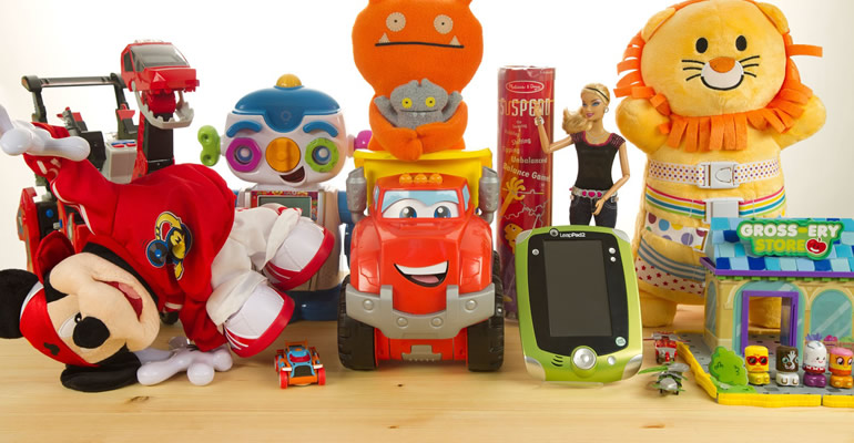 A range of kids toys for all ages
